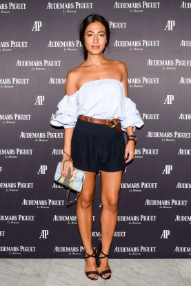 Mandatory Credit: Photo by BFA.com/REX Shutterstock (5007154av) Nausheen Shah Audemars Piguet Celebrates with Brand Ambassadors, New York, America - 27 Aug 2015 Audemars Piguet Celebrates with Brand Ambassadors Serena Williams & Stan Wawrinka, The High Line Room, The Standard NYC, New York